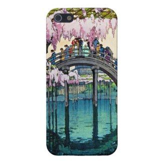 SOLD! - Kameido Bridge by Hiroshi Yoshida shin hanga iPhone 5 Cover #kameido #bridge #yoshida #hanga #iphone #case #cover #art #iphone5