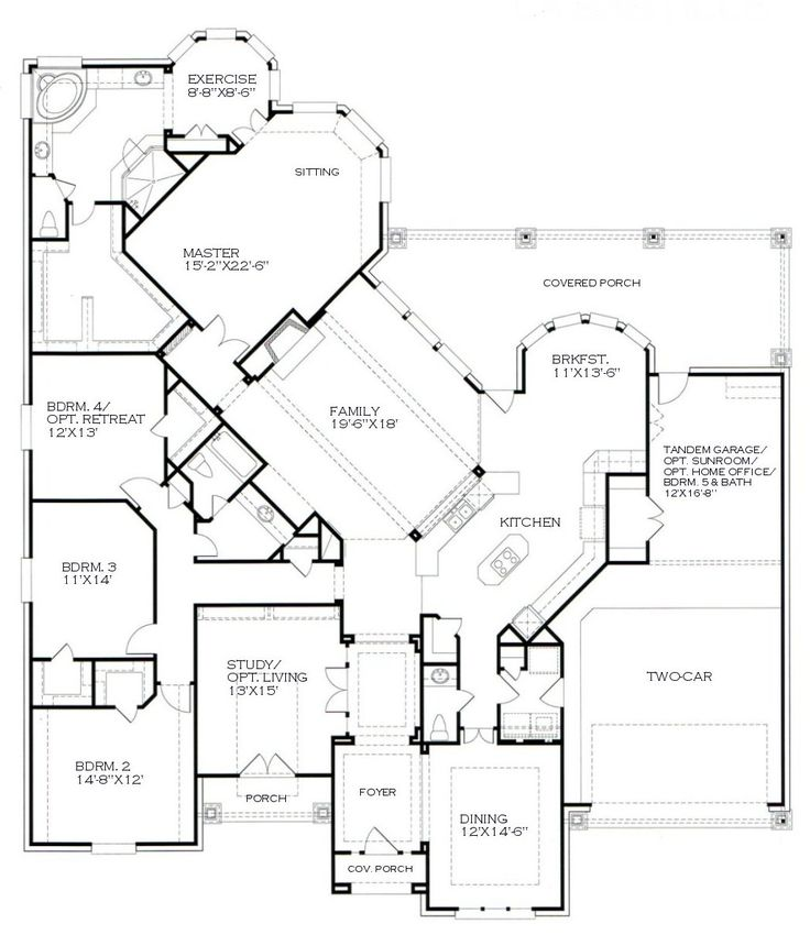 love this floor plan building plansbuilding ideashouse - House Building Plans