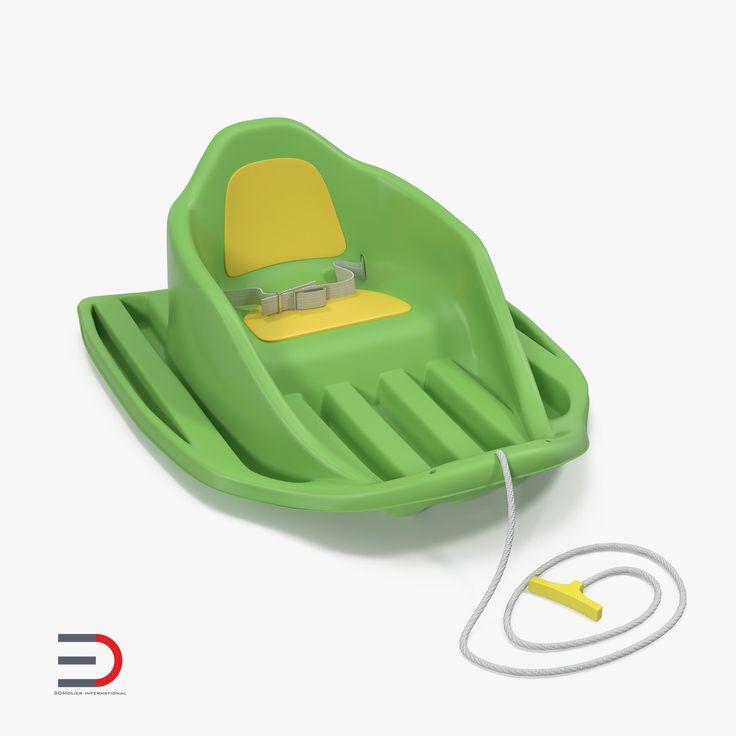 Baby Sled 3d model