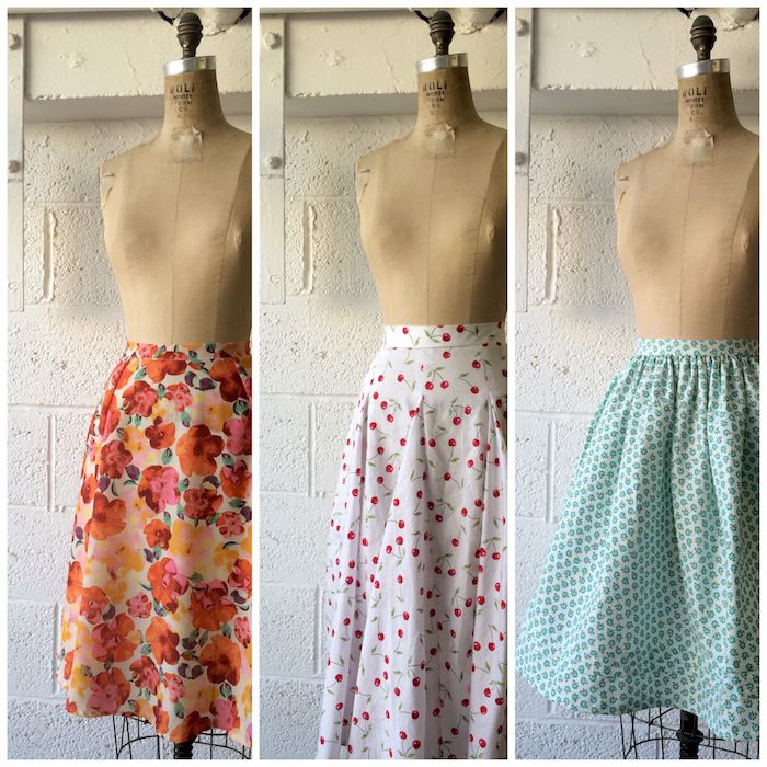Sweet & swishy skirts for Spring – By Hand London Plus APP FOR CALCULATING CIRCLE SKIRTS!
