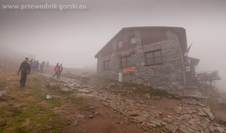 Kamenna Chatá mountain hut. Chopok, Nizke Tatry