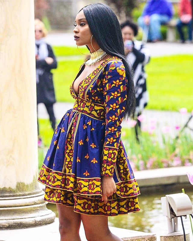 Stand out in the #CROWNED Princess Dress by Queen E Collection • available at zuvaa.com