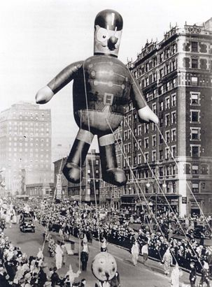 Vintage 1931, Macy's Thanksgiving Day Parade, www.RevWill.com