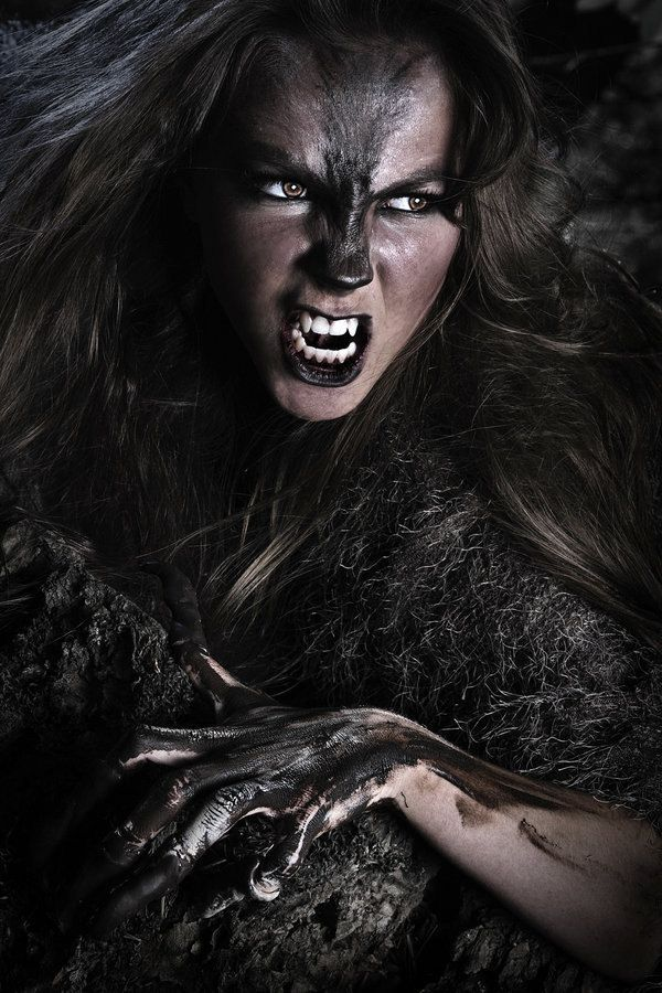 Werewolf female. Could be a guy, too.