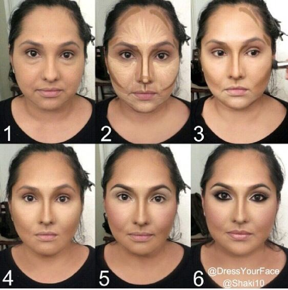 maquillaje afinar cara