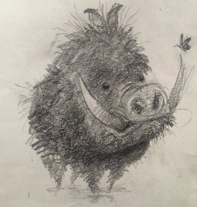 Just a little bushy boar ★ || CHARACTER DESIGN REFERENCES (https://www.facebook.com/CharacterDesignReferences & https://www.pinterest.com/characterdesigh) • Love Character Design? Join the #CDChallenge (link→ https://www.facebook.com/groups/CharacterDesignChallenge) Share your unique vision of a theme, promote your art in a community of over 35.000 artists! || ★