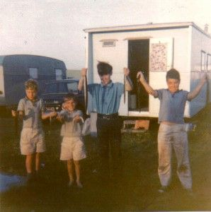 Fishing for Eels at Camber Sands in the 70s