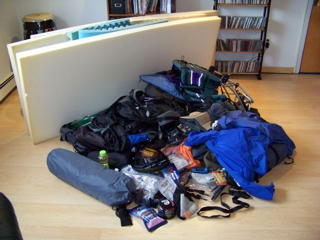 Tips For Camping Equipment Storage | Camping