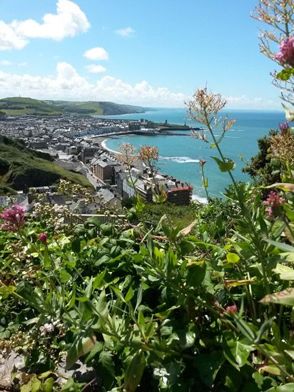 "Aberystwyth - Rich Evans, of Newtown, Powys, said he took this when he was ""approaching Aberystwyth on the coastal path from Borth""."
