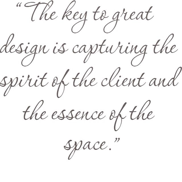 Love This Interior Design Quote
