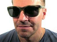 """Bones"" star David Boreanaz who wears Tommy Bahama Optical model TB6010 from Altair Eyewear."