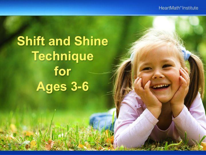 HMI Shift and Shine Technique for Ages 3 -6 PP slide 1