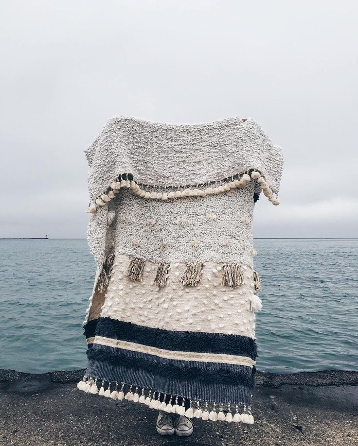 Never too old to have a favorite blanket. (This one is ours!) #regram @ratandniece boho woven warm blanket
