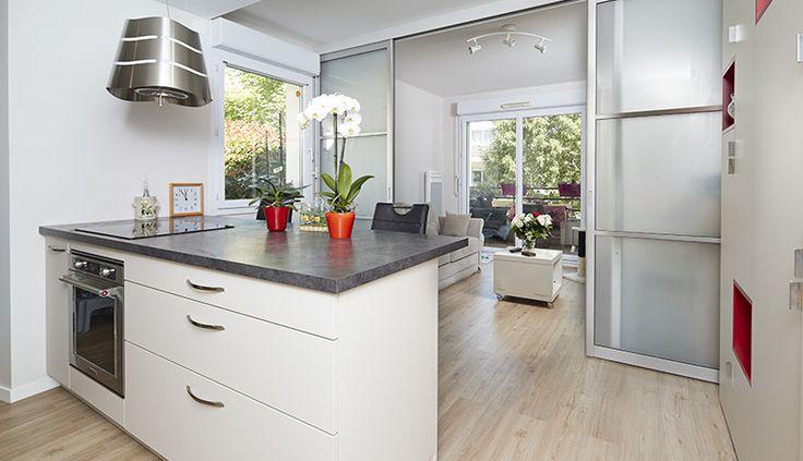 Rénovation complète d'un appartement nantais - Macoretz Agencement