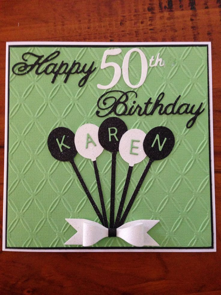 Best 25 50th birthday cards ideas – Cards 50th Birthday