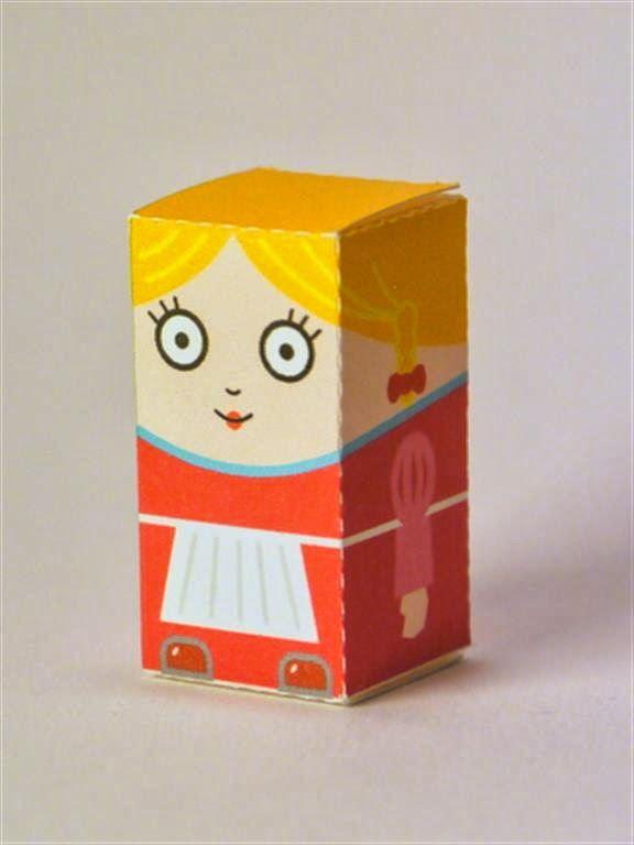 kerajinan gunting/tempel anak TK/SD, membuat sendiri kotak souvenir permen, pelayan restoran