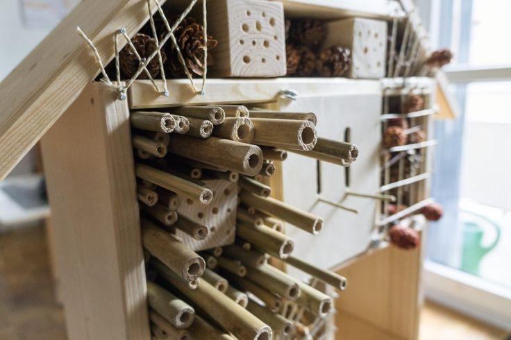 25 melhores ideias de insektenhotel bauanleitung no pinterest bauanleitung vogelhaus. Black Bedroom Furniture Sets. Home Design Ideas