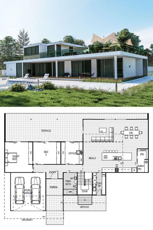 York Designer Kit Home 280m2 142 456 By Imagine Kit Homes Kit Homes Contemporary House Design Container House Design
