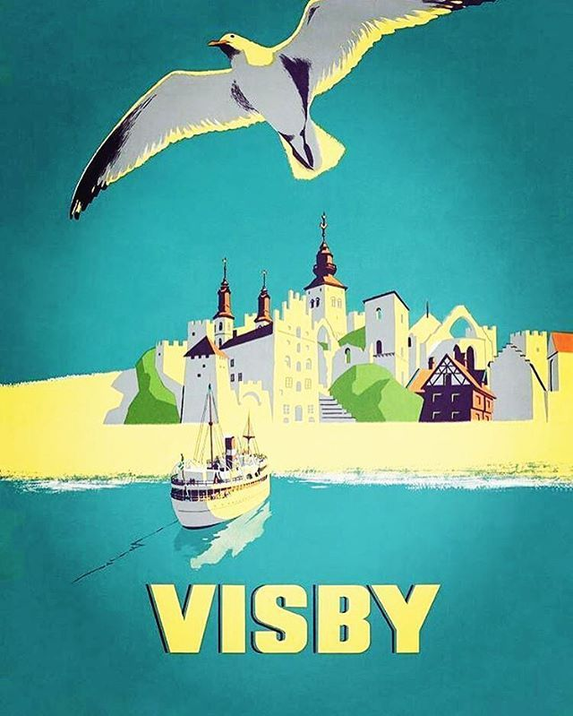 Just one week to go and I'll see beautiful Visby! Together with cruise line…