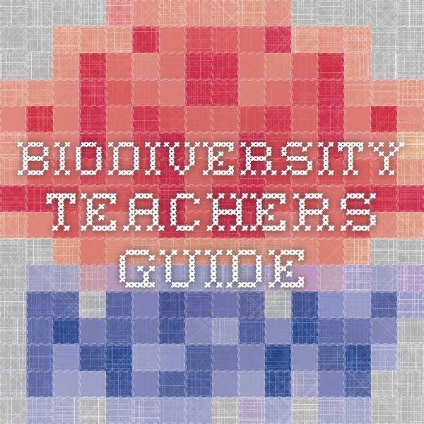 Biodiversity Teachers Guide