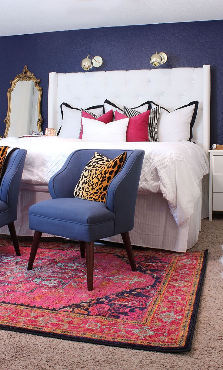 Mix A Bold Color Accents With A Solid Duvet Set For A Beautiful Bedroom  Look.