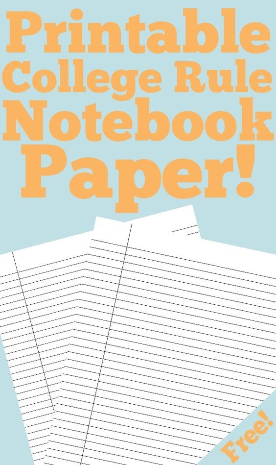 Need paper? Just hit print and you are good to go. -Able to be typed on before printing. -Lined on front and back. -Great for hole punching and sticking right into any type of binder or notebook. -Never run out of paper again (^_^)