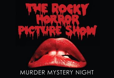 Find out who did it at our Murder Mystery The Rocky Horror Picture Show night!  Including 3 course meal and coffee until 1am  Friday 30th October  £36.00 pp  Book Here