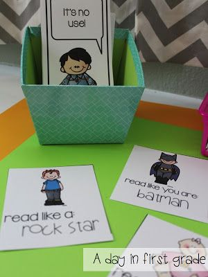 Help students with fluency by using Fry phrases and voice cards! My students LOVE this and it's FREE!