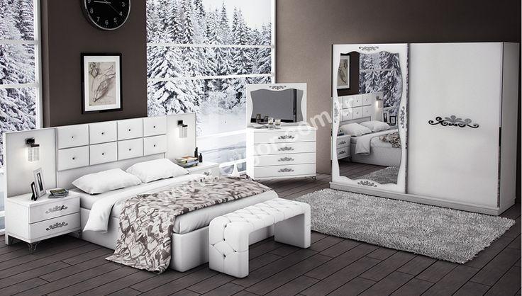 Alyans Beyaz Yatak Odası https://www.evgor.com.tr/alyans-beyaz-modern-yatak-odasi