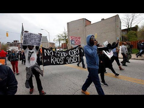 Freddie Gray protests turn to violence  This man offers a solution