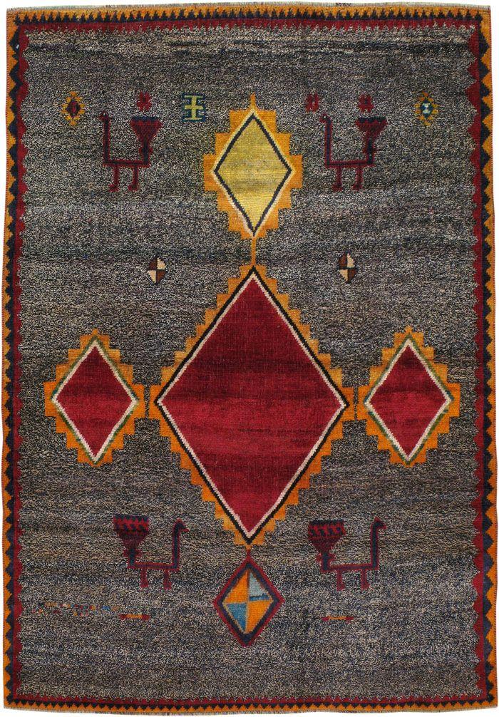 Vintage Gabbeh Rug