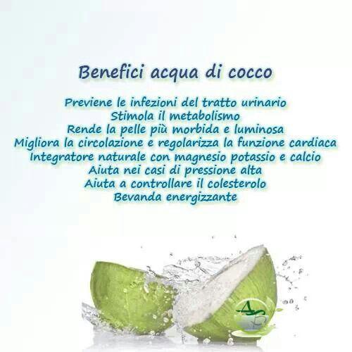 I benefici dell'acqua di cocco