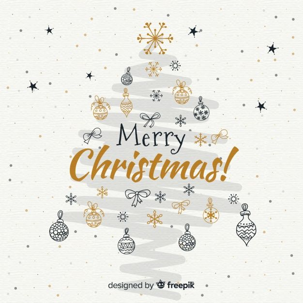 Download Brush Stroke Christmas Background For Free In 2020 Happy Christmas Wishes Christmas Drawing Christmas Doodles