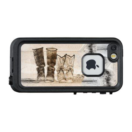 Ranch Hands LifeProof FRĒ iPhone 5/5S/SE Case - ranch gifts style nature home diy