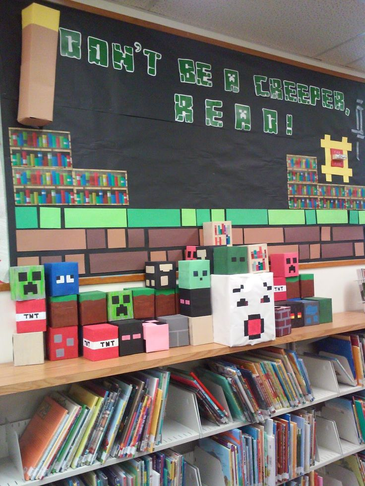 Minecraft Display Bulletin Board