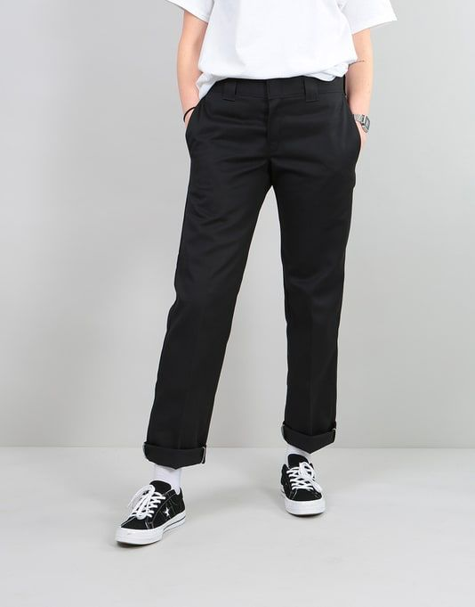 Pant 2019 Work Dickies Slim Womens 873 BlackClothes In CxedorBW