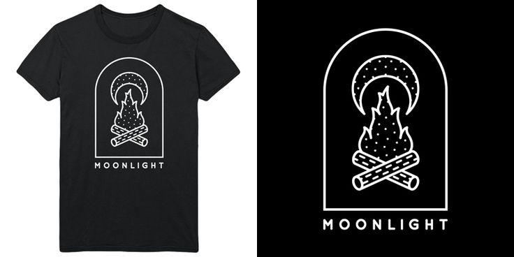 """""""Moonlight"""" t-shirt design by DOOOM"""