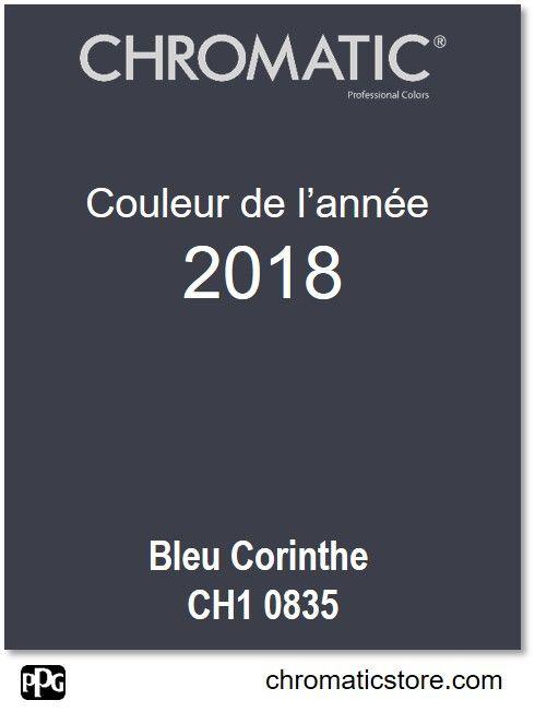 Finalisez votre projet #peinture avec le #Bleu Corinthe CH1 0835 en vous rendant dans l'un de nos points de vente partenaires. Trouvez votre #distributeur sur www.chromaticstore.com