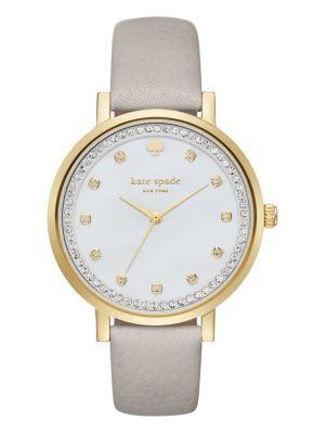 clocktower grey pave monterey watch - Kate Spade New York