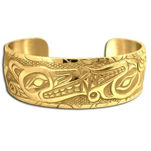 14K Yellow Gold First Nations Unity Bracelet. Made in USA. Metal Arts Group. $6472.00