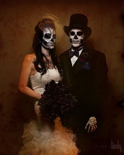 day of the dead couple - photo #6