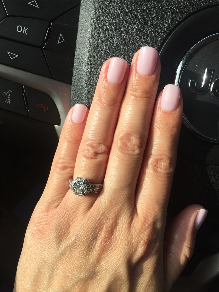 SNS nails, pale pink #121 �