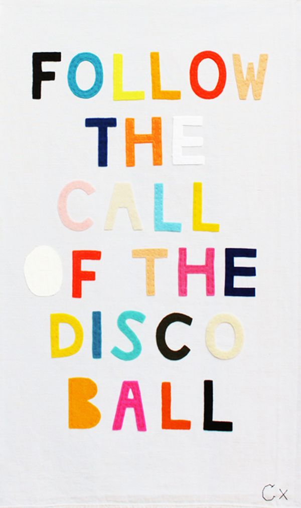 Just dance Follow the call of the disco ball!