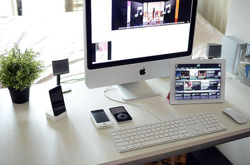 Modern Workspace  :: iMac and All Things Apple