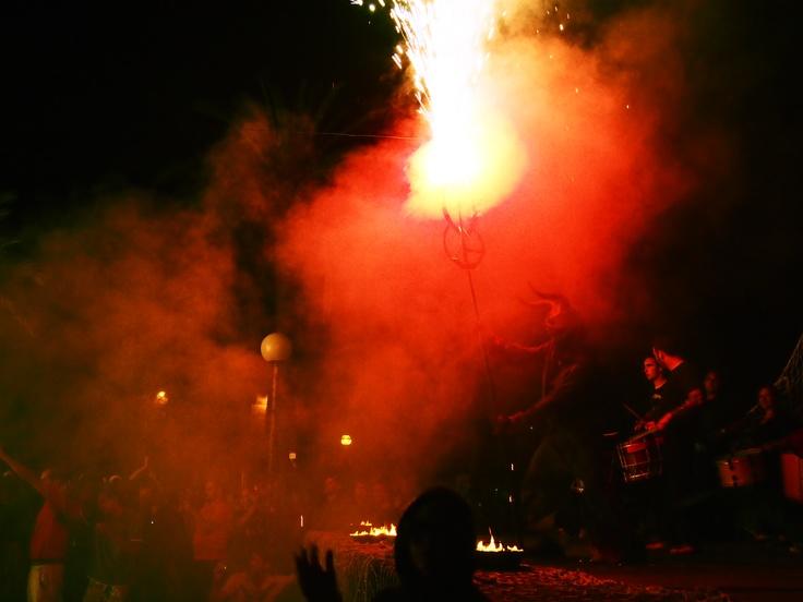 Fum y foc en la #nitdesantJoan