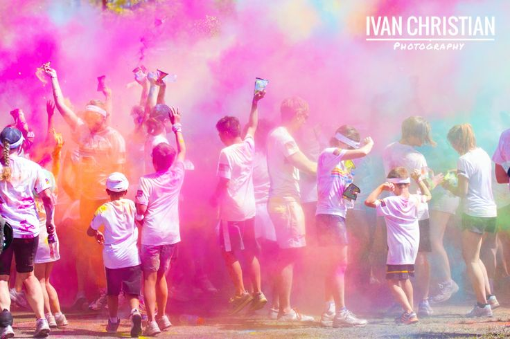 Colour Run Sydney - Ivan Christian Photography