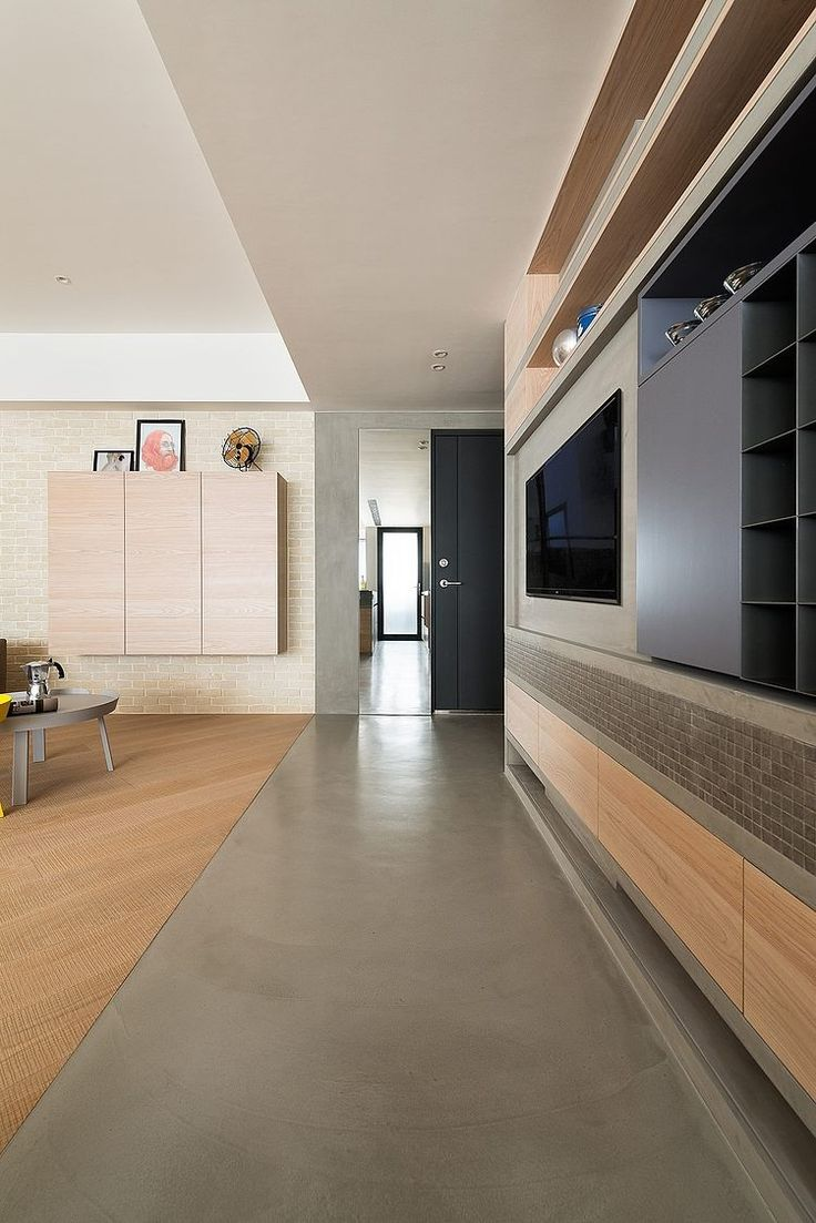 flushed profile flooring transition - JU Residence by KC Design Studio | Home Adore