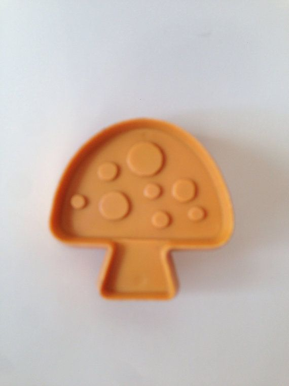Vintage Hallmark Cards Mushroom Cookie Cutter by modPug on Etsy