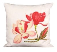 Pink Magnolia Pillow