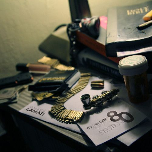 love this cover. kendrick lamar. section 80. irony.